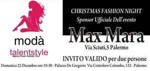 Christmas Fashion Night