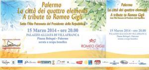 Romeo Gigli evento