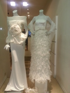 Wedding dresses…