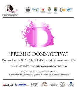 """8 marzo festa della Donna e premio """"DonnaAttiva"""""""