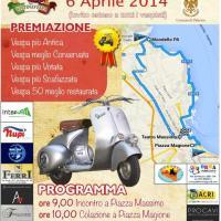 Piazza Verdi: 1° raduno nazionale in Vespa a Palermo
