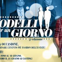 """""""Modelli per un giorno"""": al Sicilia Outlet Village dal sogno alle passarelle con Riccardo Romano"""