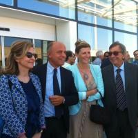 Inaugurazione all'Aeroporto di Palermo. Una nuova veste per il curb arrivi che accoglierà i passeggeri in transito