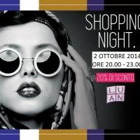 """Luan Shopping Night"": il 2 ottobre in via Torrearsa 12 a Palermo"