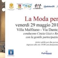 """La Moda per l'AIL e la II ed. del riconoscimento """"Imprenditoria ed Eccellenza"""", il 29 maggio a Villa Malfitano"""