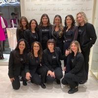Luisa Spagnoli: Opening party per la riapertura della boutique di via Ruggero Settimo a Palermo